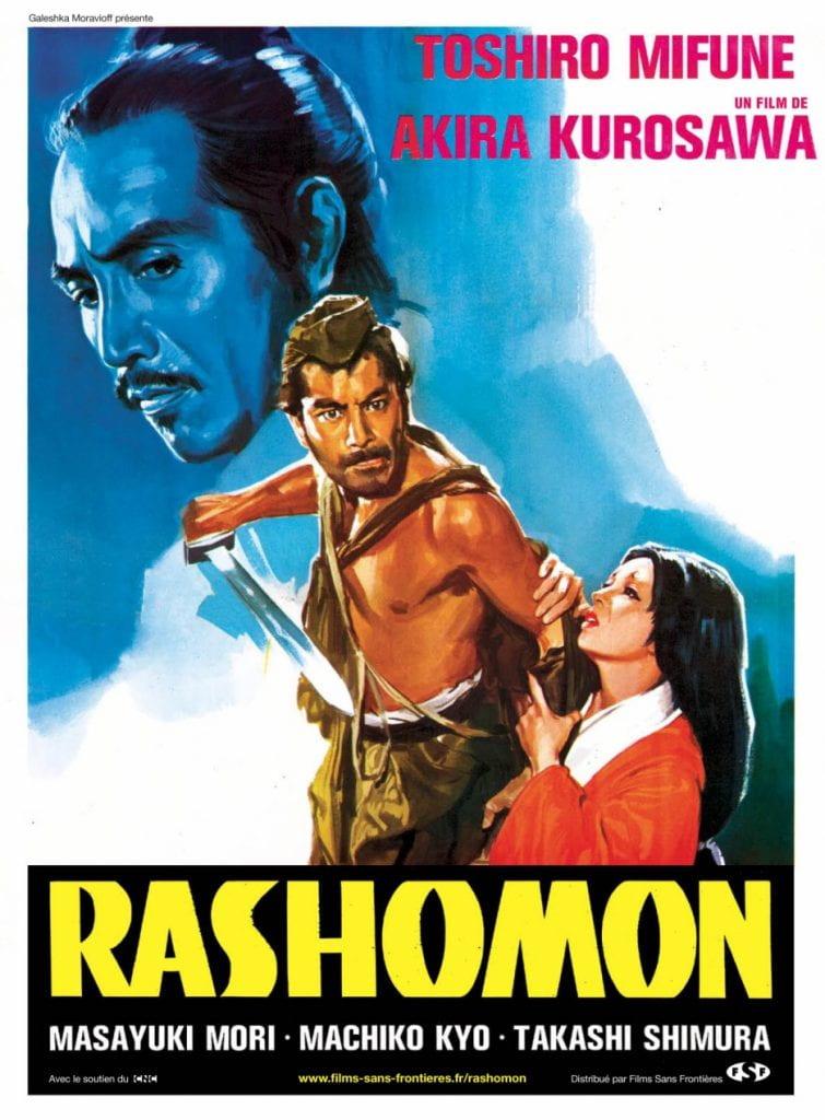 Poster for Rashōmon (1950)