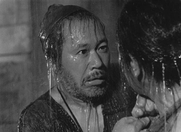 The Woodcutter is the ultimate hero of Rashōmon (1950)