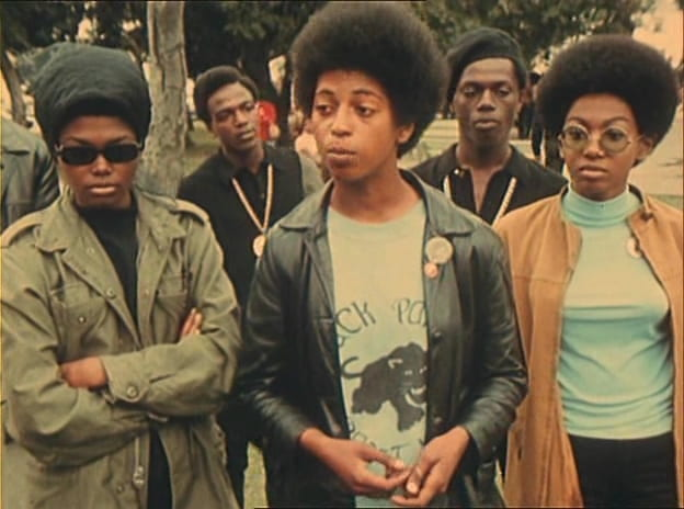 A young activist talks about his work for the Black Panther Party.