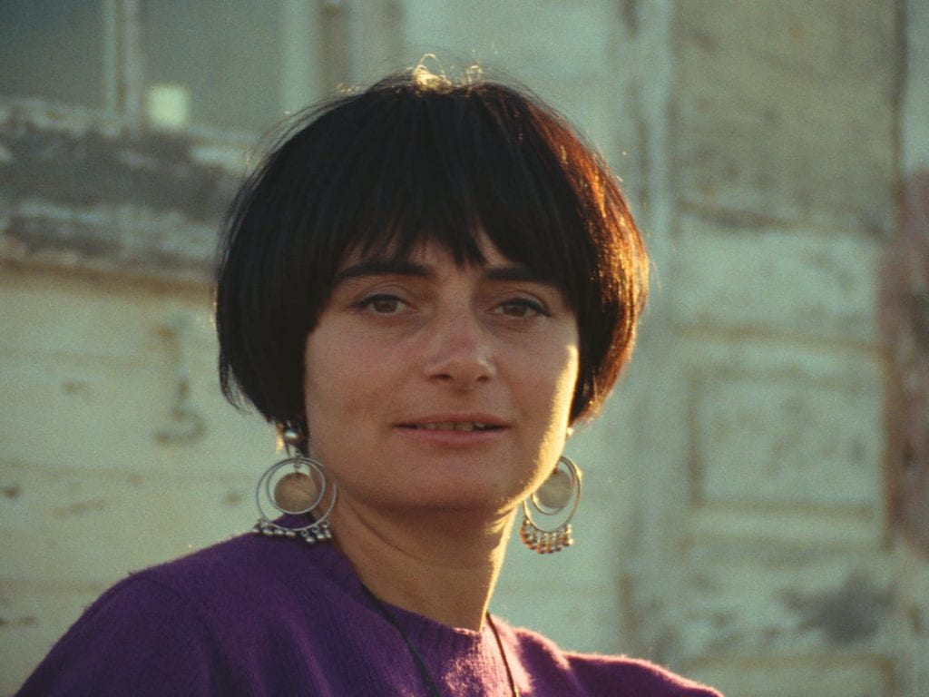 Agnès Varda circa 1967, when she lived in California.