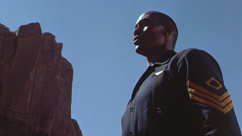 Woody Strode as Rutledge.