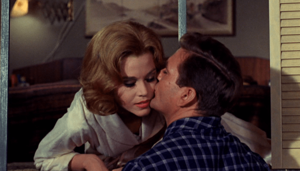 Jane Fonda and Rod Taylor in Sunday in New York