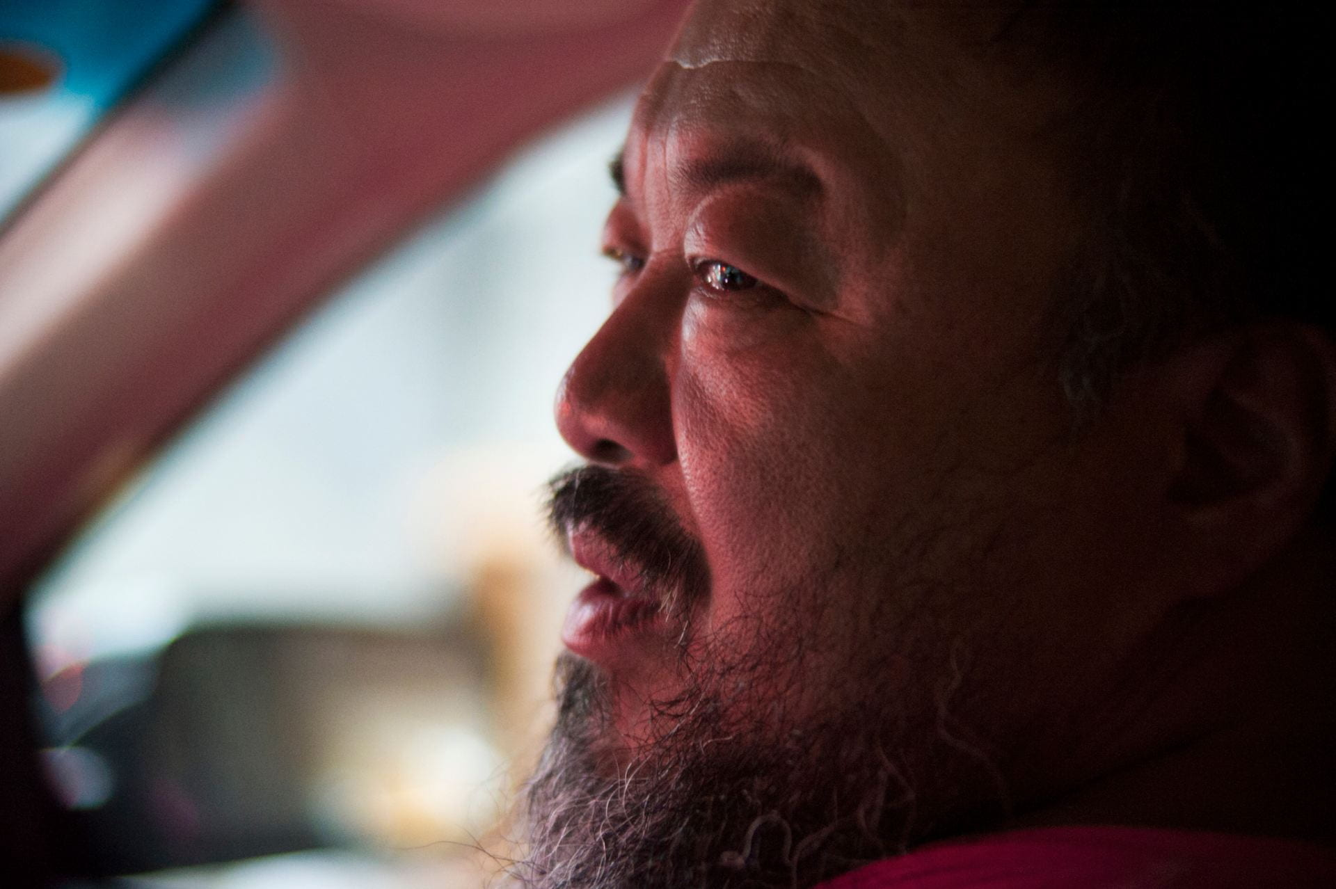 Still from Ai Weiwei: The Fake Case