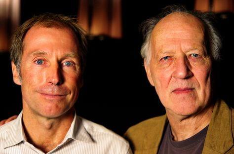 Jon Vickers with Werner Herzog