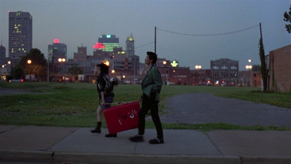 Jun and Mitsuko walking together through Memphis