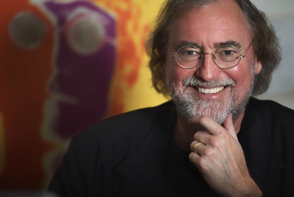 Professor Glenn Gass -- the architect of rock history at Indiana University.