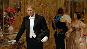 Burt Lancaster as Don Cabrera, Prince of Salina, in The Leopard.
