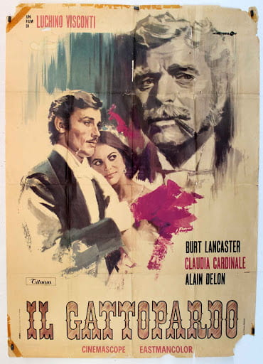Italian poster for The Leopard.