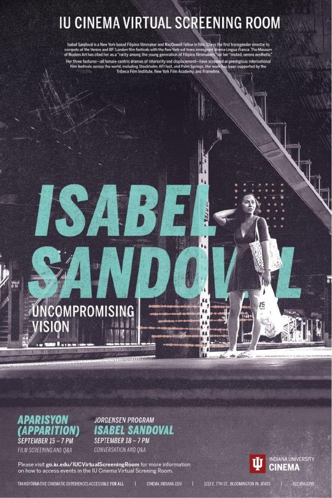 Isabel Sandoval poster