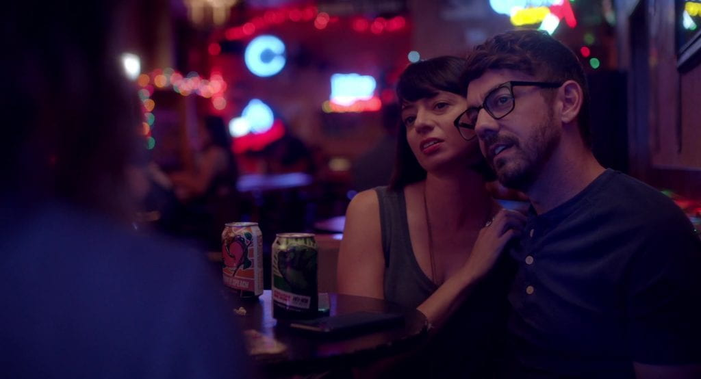 Jorma Taccone and Kate Micucci in I Used to Go Here
