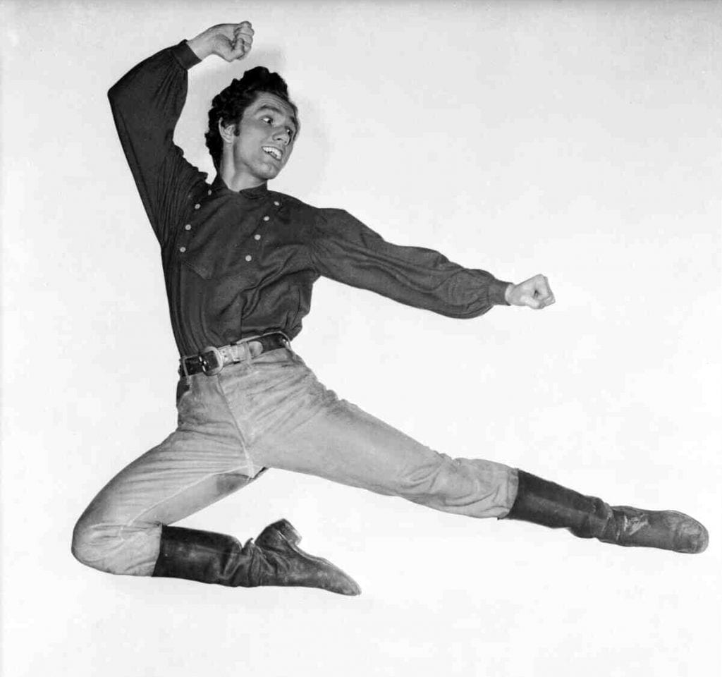 Dancer and actor Tommy Rall