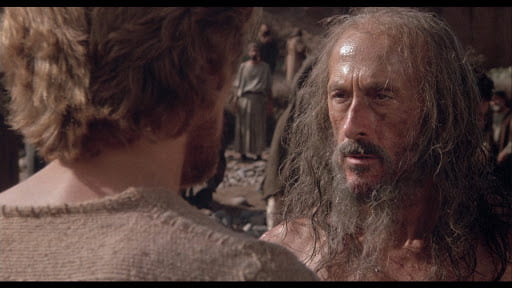 André Gregory as John the Baptist in The Last Temptation of Christ (1989).