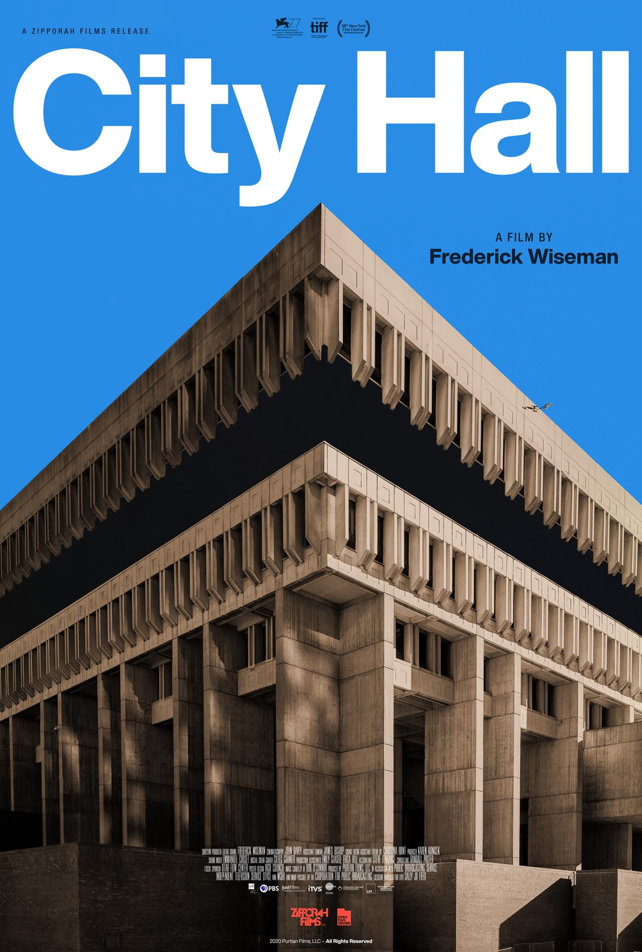 Poster for City Hall (2020)