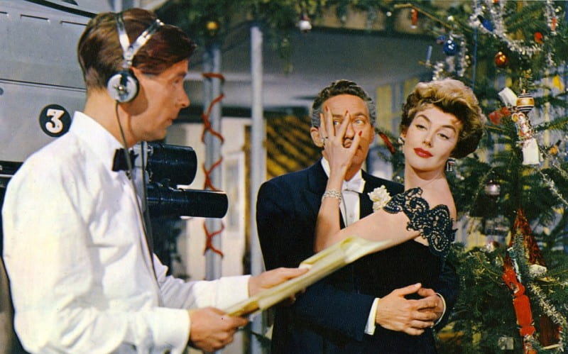 Peter Finch and Kay Kendall in Simon and Laura