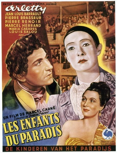 French poster for Children of Paradise