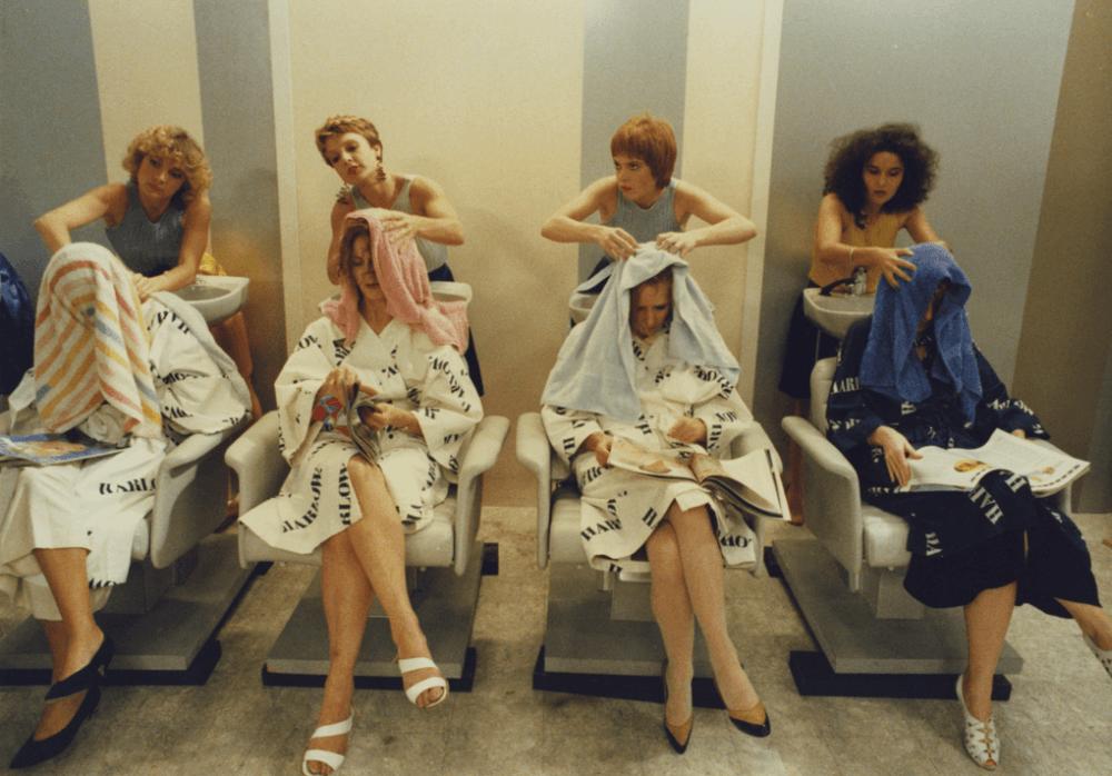 A shopping mall beauty salon from Golden Eighties