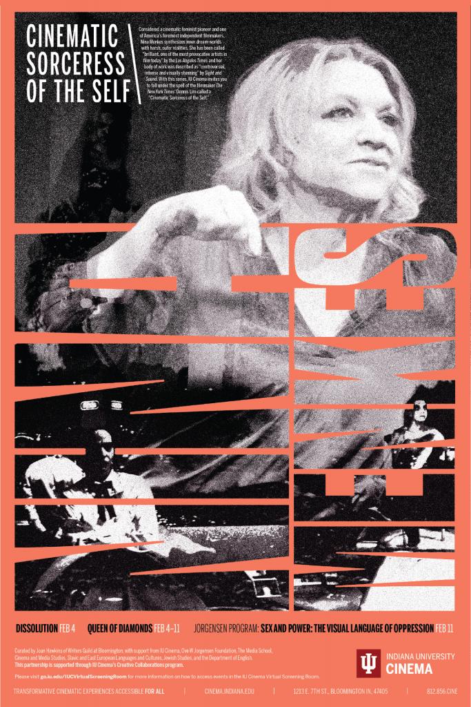 Nina Menkes series poster