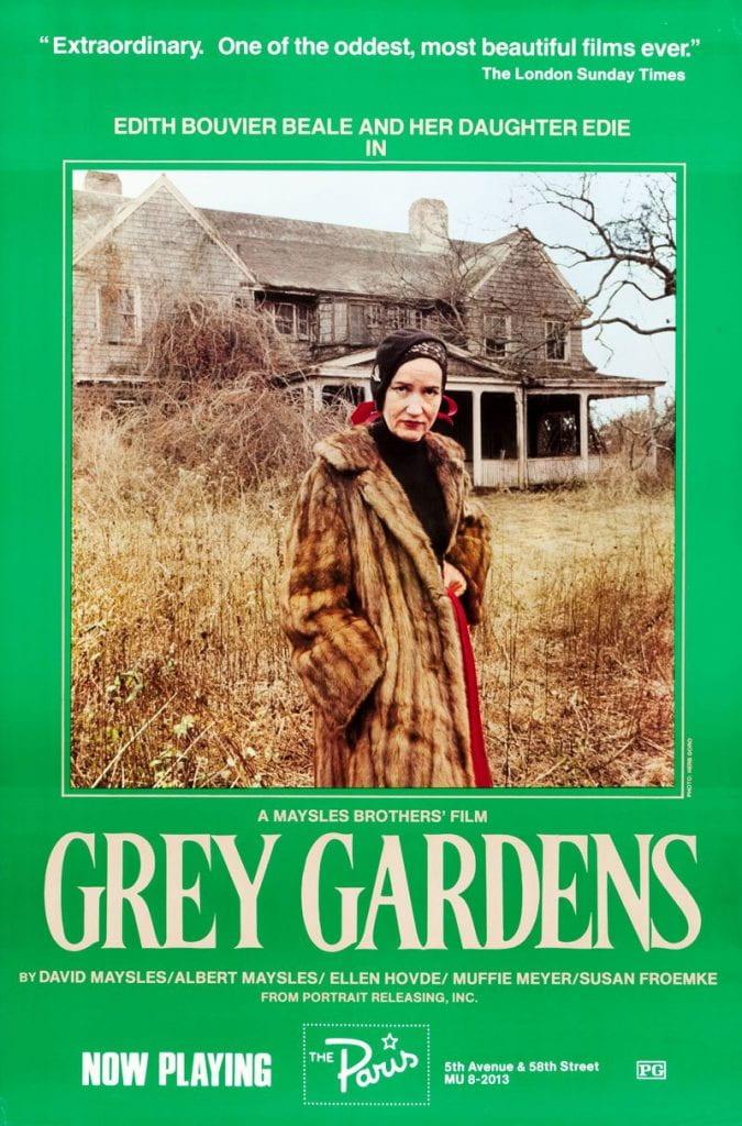 Original poster for Grey Gardens (1976)