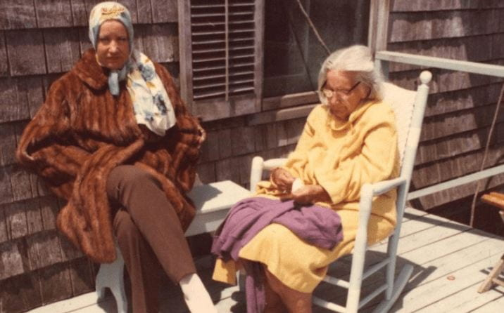 Little Edie and Big Edie in Grey Gardens (1976)