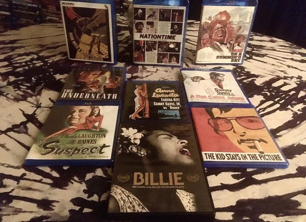 This month's Blu-rays