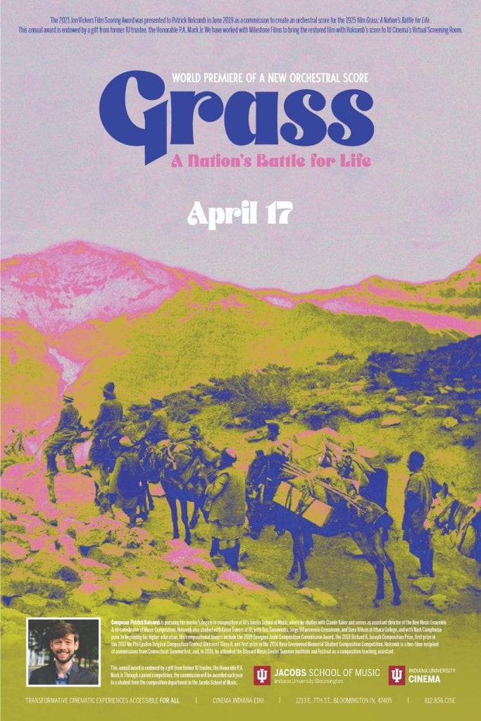Poster for GRASS: A NATION'S BATTLE FOR LIFE