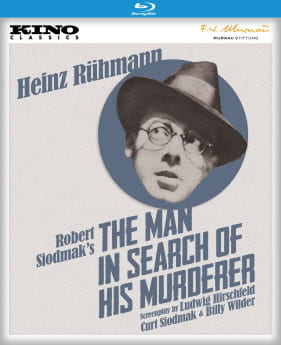 Blu-ray cover for The Man in Search of His Murderer