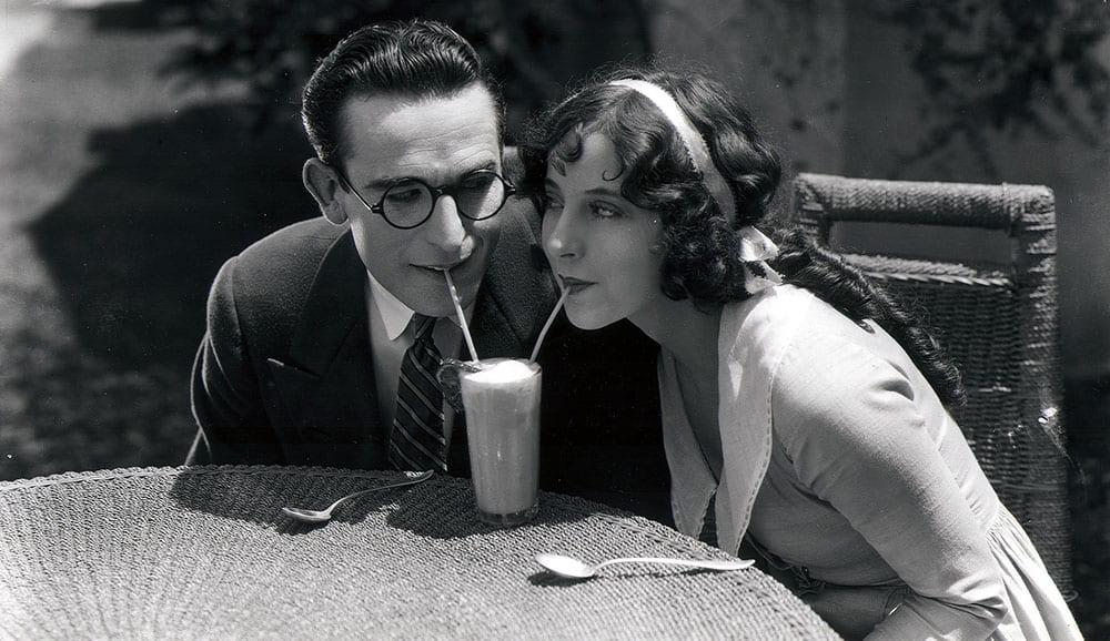 Harold Lloyd and Jobyna Ralston