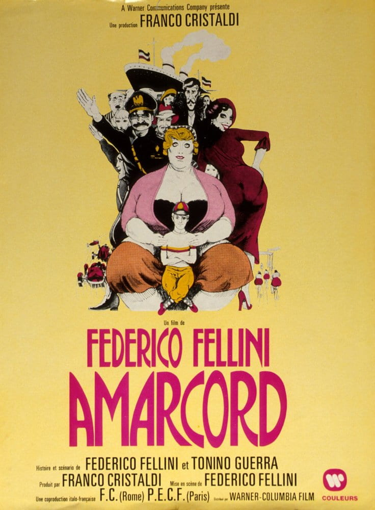 Poster for Amarcord (1973)