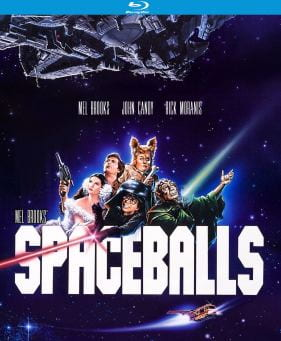 Blu-ray cover for Spaceballs