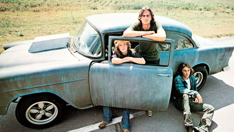 Still from TWO-LANE BLACKTOP