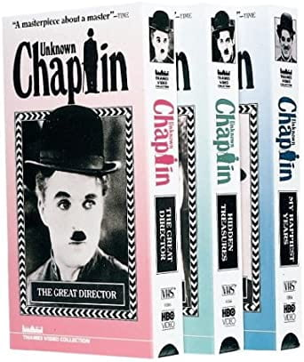 Unknown Chaplin VHS tapes