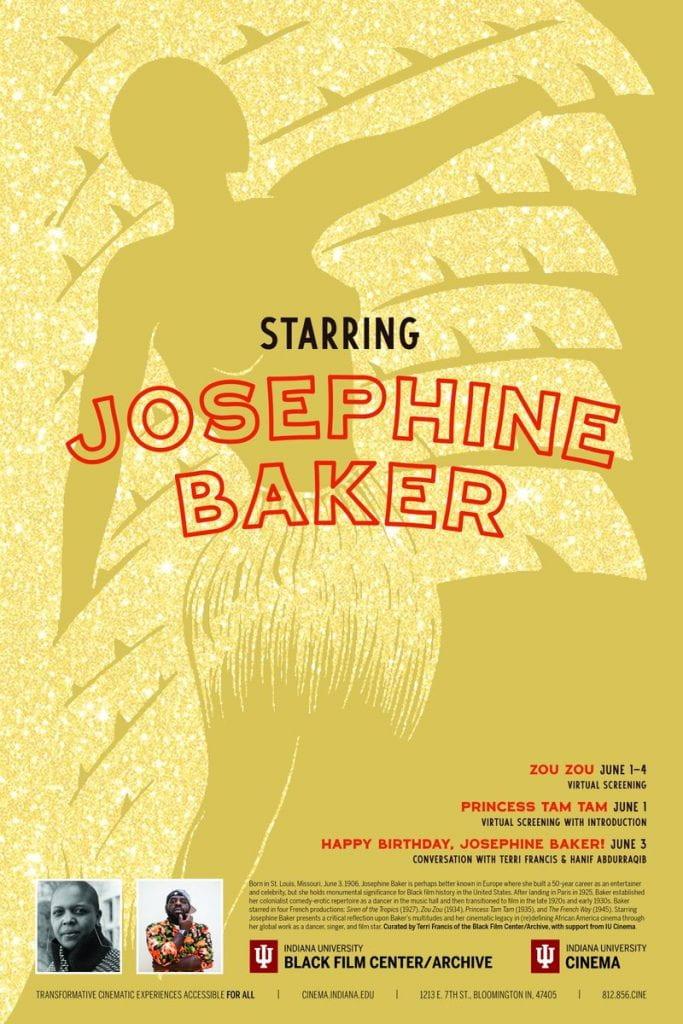 Starring Josephine Baker poster