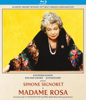Blu-ray cover for MADAME ROSA
