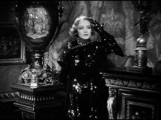 Marlene Dietrich as X-27 in Josef von Sternberg's Dishonored (1931)