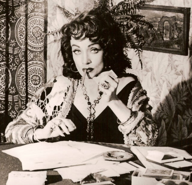 Dietrich in Orson Welles' Touch of Evil (1958)