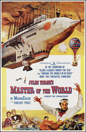 Poster for Jules Verne's Master of the World