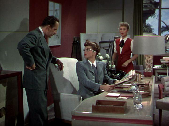 Keenan Wynn, Esther, and Betty Garrett in NEPTUNE'S DAUGHTER