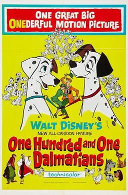 Poster for One Hundred and One Dalmatians (1961)