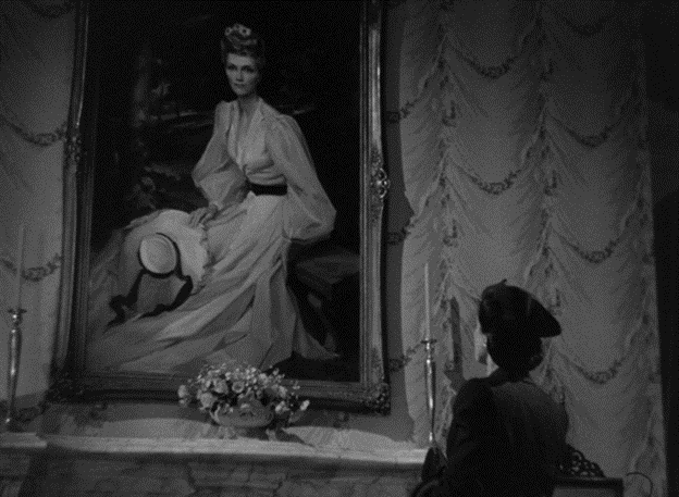 Miss Holloway recalls her intimate connection with Mary as she admires her portrait in Stella's room.