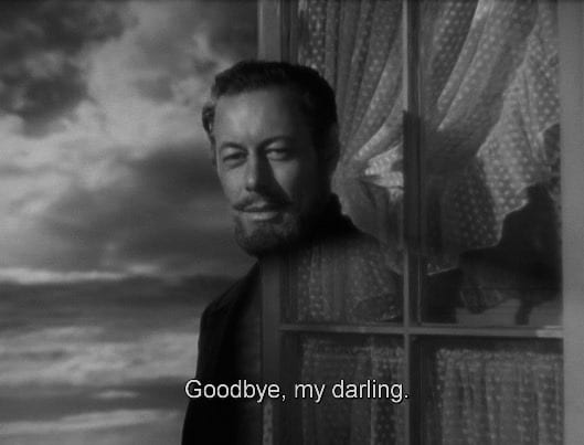 Rex Harrison as the titular ghost, Captain Daniel Gregg
