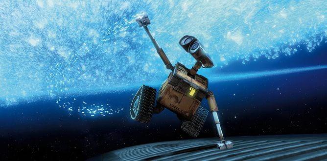 The eponymous robot of WALL-E