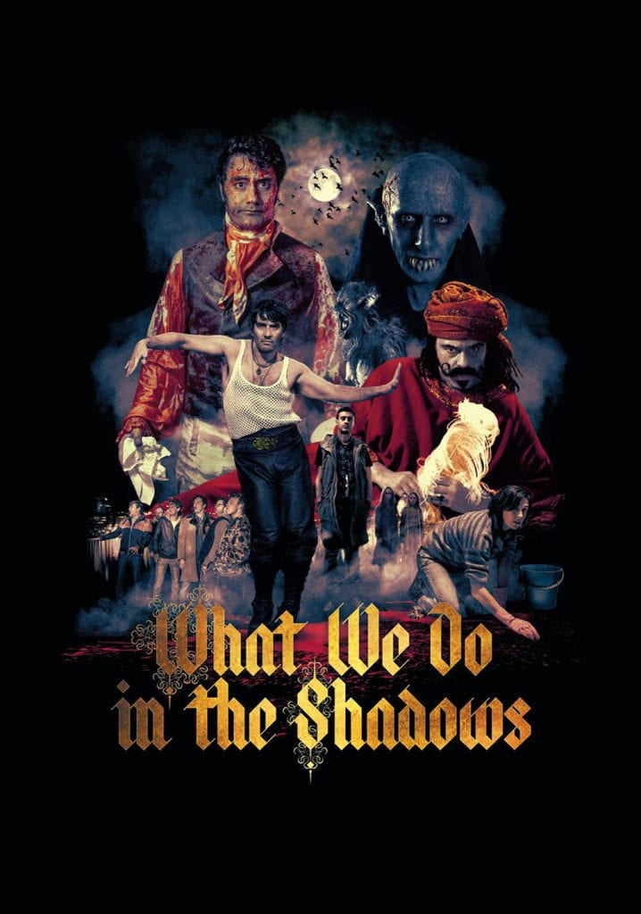 Poster for What We Do in the Shadows (2014)