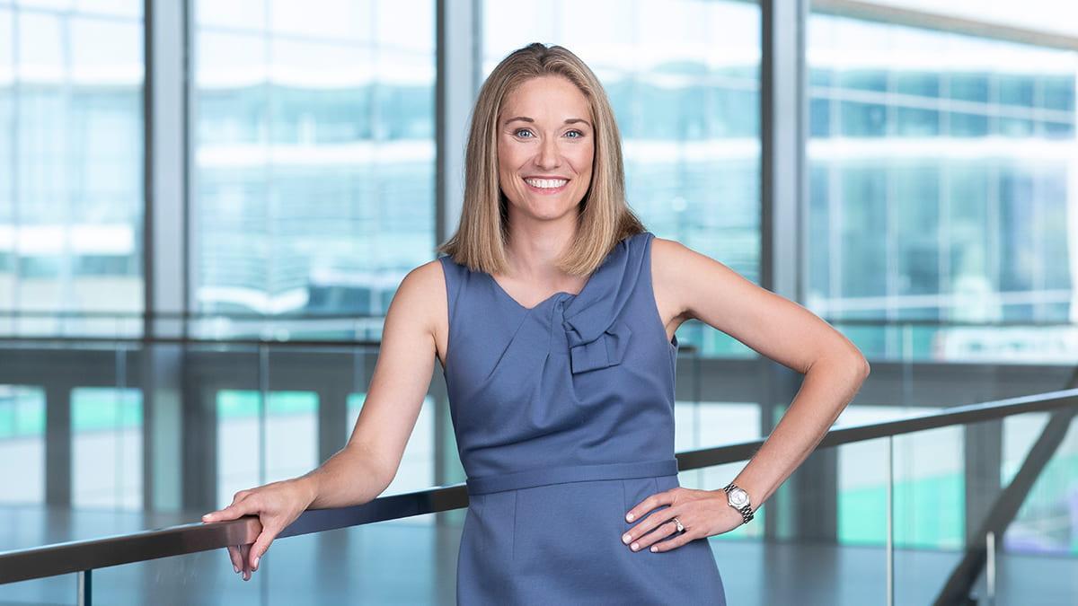 Renee Cherubin is the senior director of MBA admissions at Kellogg.