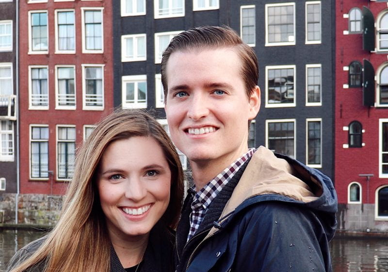 Philip and Jennifer Spencer study abroad at LBS on the Kellogg exchange program.