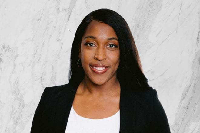 Traci O'Hara is co-president of the Kellogg Black Management Association (BMA)