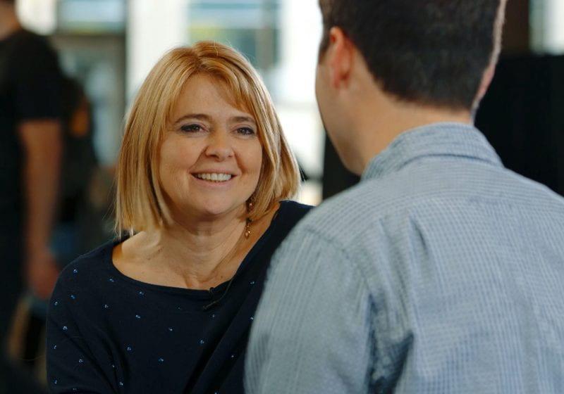 Dean Francesca Cornelli talks with Inside Kellogg