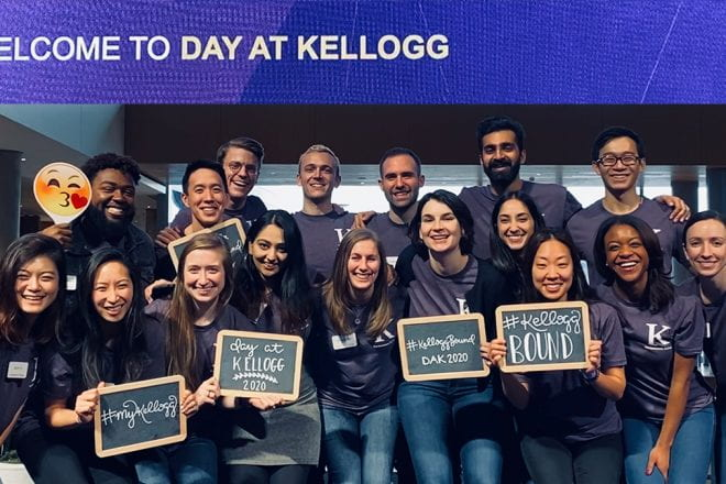 Shannon Kooser (2Y 2021) shares her experience working to transition Day at Kellogg (DAK) into a virtual experience for admitted students.