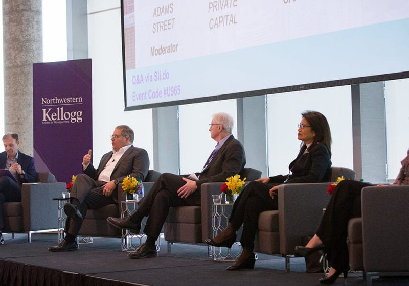 Elissa Estopinal and Connor Ryan (both 2Y 2020) share their experience and reflections as co-chairs of the 2020 Private Equity and Venture Capital Conference at Kellogg.