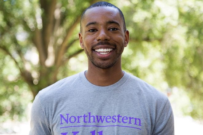 "Jamal Little '21 describes how Pride@Kellogg always ""felt like a home."""