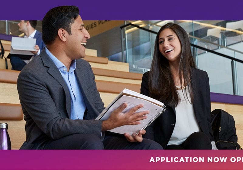 The 2021 Kellogg MBA application is now open